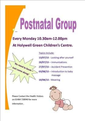 postnatal group
