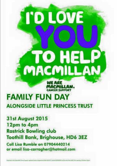Macmillan fun day