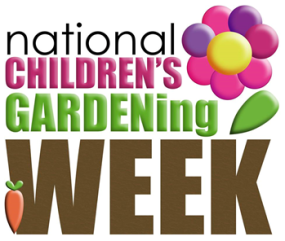 National Childrens Gardening Week Logo