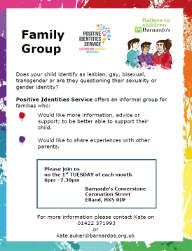 Family Group Positive Identities Poster