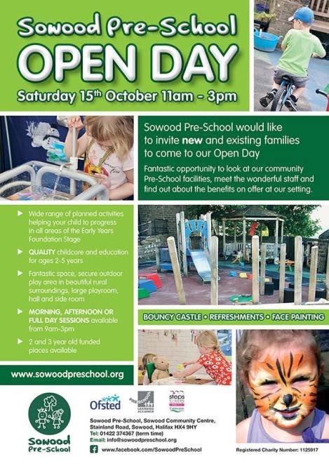 sowood-pre-school-open-day