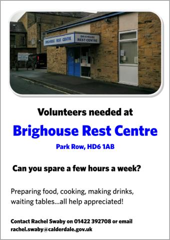 brighouse-rest-centre-volunteer-flyer