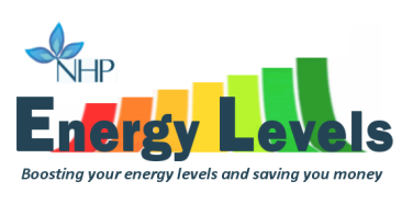 logo - energy levels logo and strapline