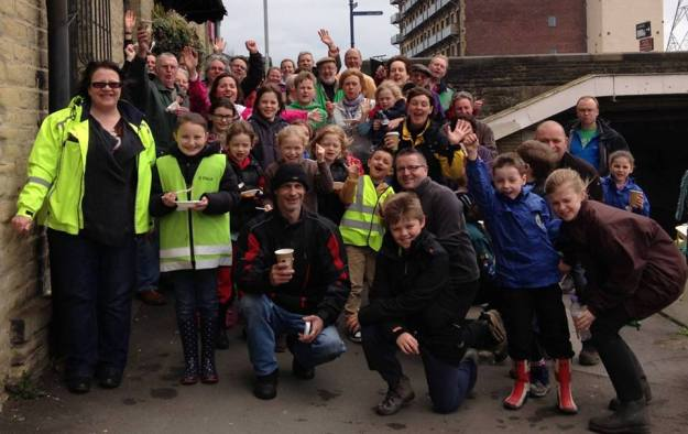 brighouse canal clean up