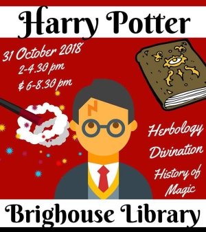 harry potter brighouse library