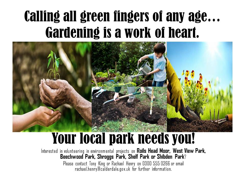 Calling All Green Fingers of Any Age – Your Local Park Needs