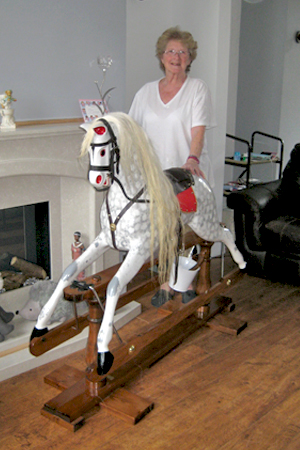 Beauty the Rocking Horse(8)