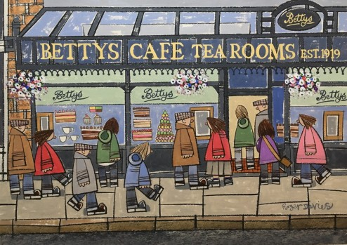Roger Davies _ Bettys Cafe Tea Rooms In Ilkley